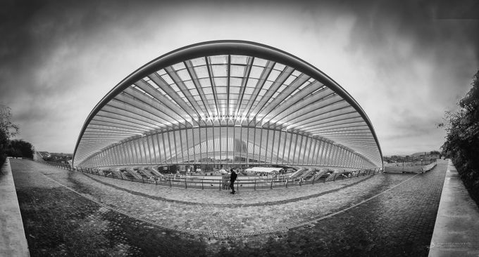 Liège-Guillemins by RubenB - Tall Structures Photo Contest