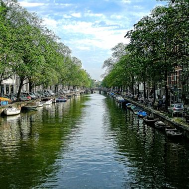 Me and my family went to Amsterdam in the year 2009. I took this photo when we were walking around in the city.