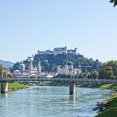I took this photo when me and my family were in Salzburg, Austria in the year 2016. While we were walking around in the city, I took this photo.