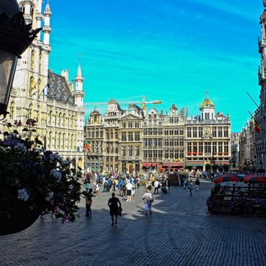 I took this photo when me and my family were in Brussels, Belgium in the year 2012. While we were walking around in the city, I took this photo.