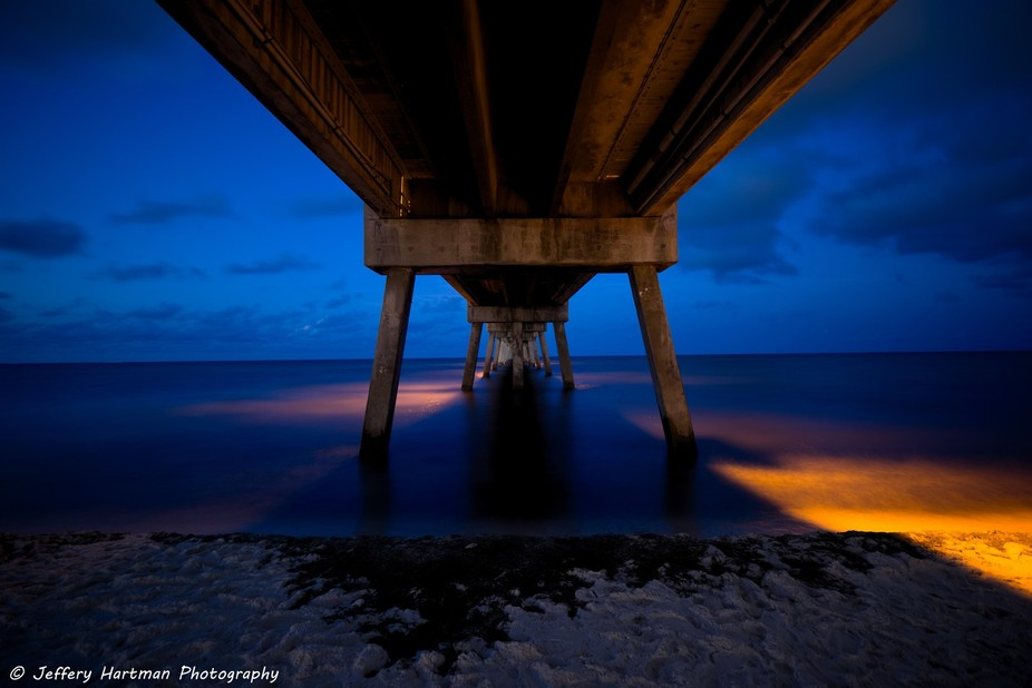 Under the Okaloosa Island Fishing Pier with Tungsten WB