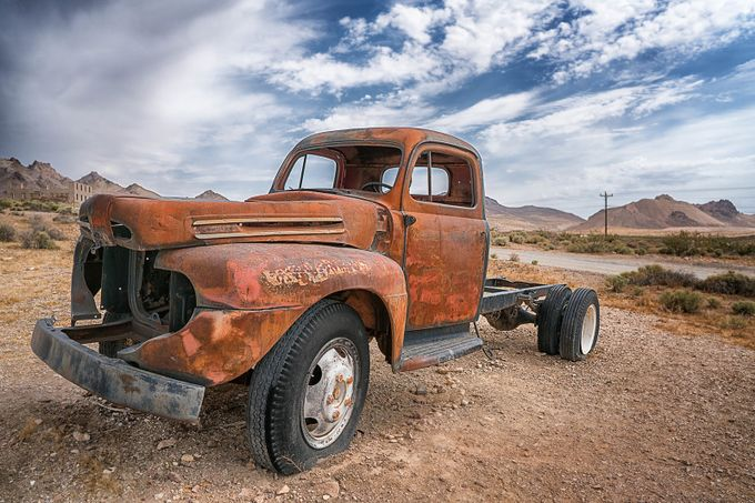 Rhyolite by alishaclarke - Trucks Photo Contest
