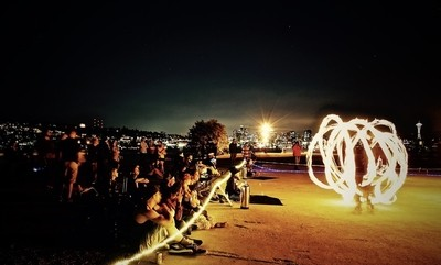 The Flow Festival... Jump into the fire