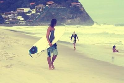 beach, babess and surf