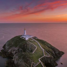 Visited Holyhead in Wales recently. This is the South Stack lighthouse.