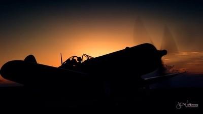 Sun-setting Corsair