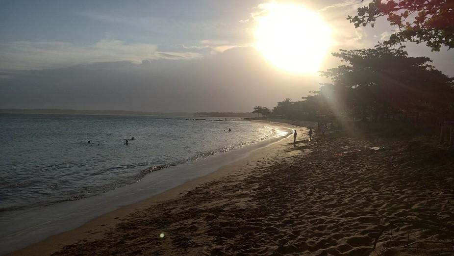 Praia dos Padres Beach Sunset