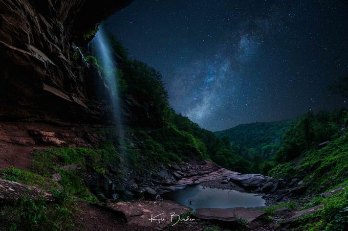 Bathing Under the Stars by kylebarden - Simply HDR Photo Contest