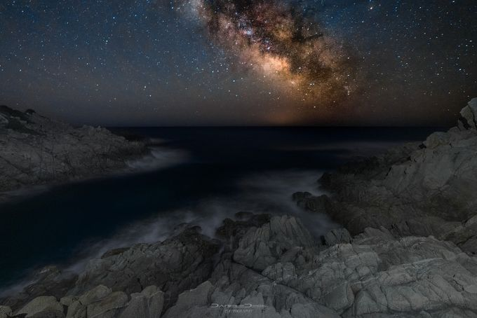 cala cipolla night by DanieleJ - Capture The Milky Way Photo Contest