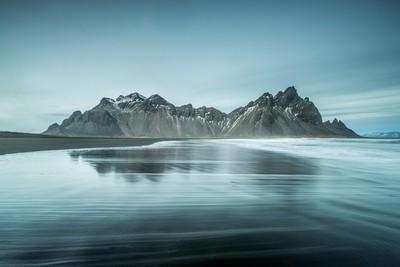 Mount Vesturhorn Iceland