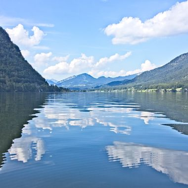 I took this photo when me and my family went to Hallstatt, Austria  in the year 2016.