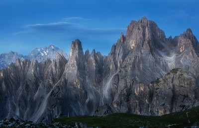 Dolomites in the Moonlight
