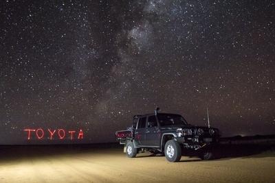 Toyota under the Stars