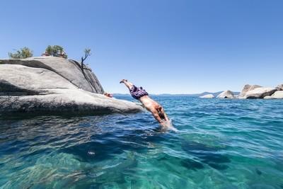 Summertime at Lake Tahoe