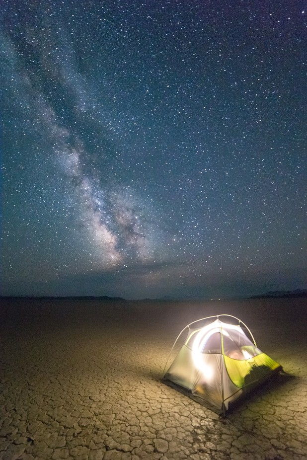 Desert Night Camping by austinwhite - Outdoor Camping Photo Contest
