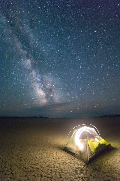 Desert Night Camping