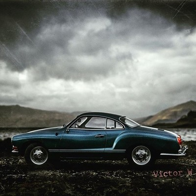 #volkswagen #karmenghia #hills #visitscotland #picoftheday #pictureoftheday