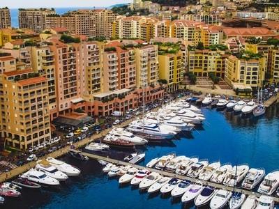 Fontvieille harbor, Monaco, French Riviera