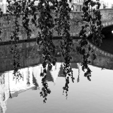 I took this photo when me and family went to Brugge, Belgium for our holiday in the year 2012. Later, I converted the photo to Black and White.