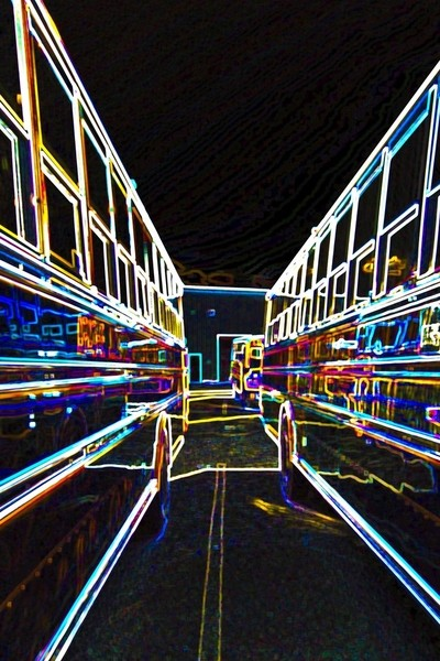 """Between Buses"""