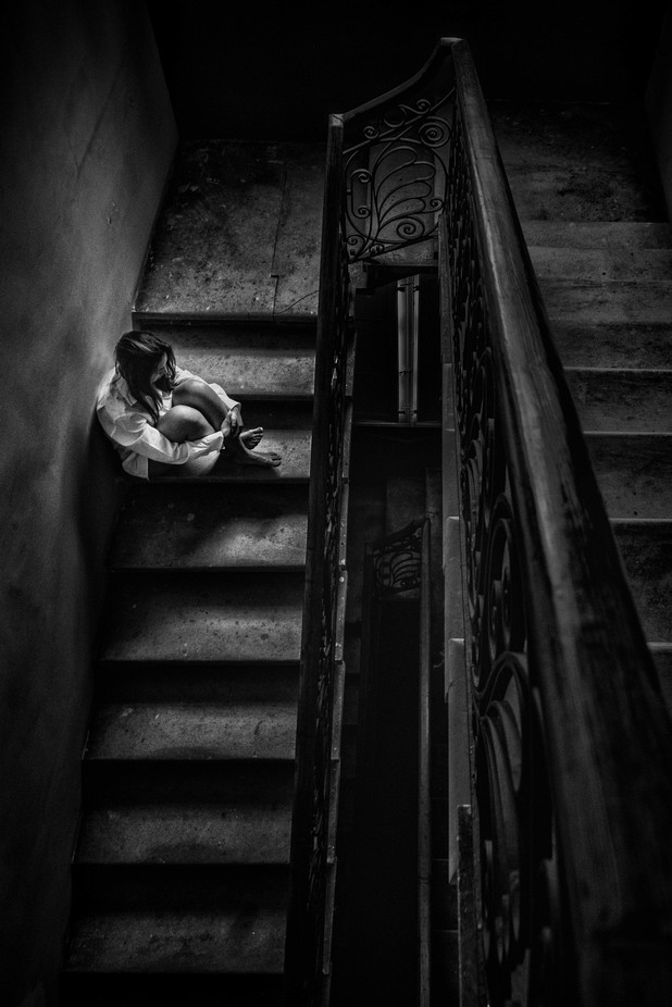 15 - Depression by ivangatt - Black And White Compositions Photo Contest vol2