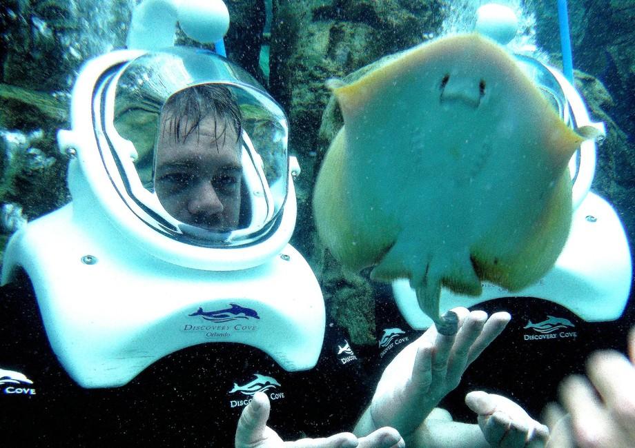 Chris and Flatfish