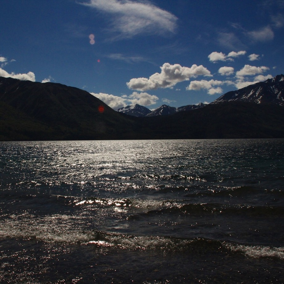 This Photo was taken on a tour we took around Canada, during our alaska cruise. The sun lit up th...