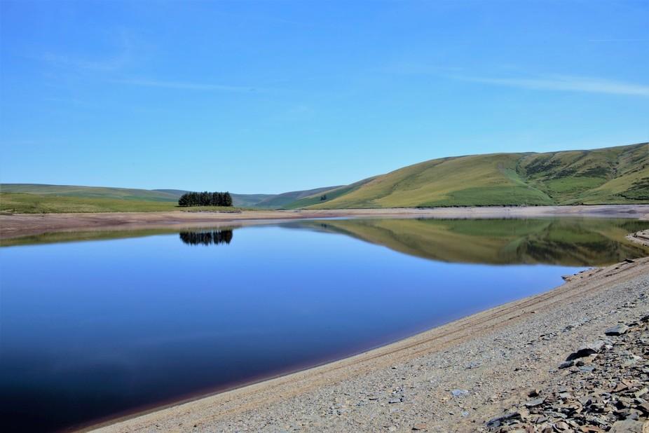 Part of the Elan Valley Wales UK