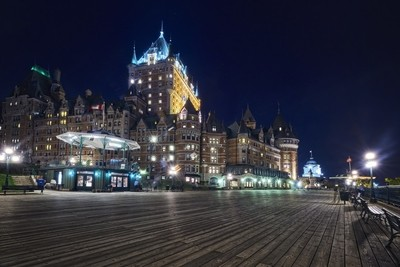 Night in Quebec City