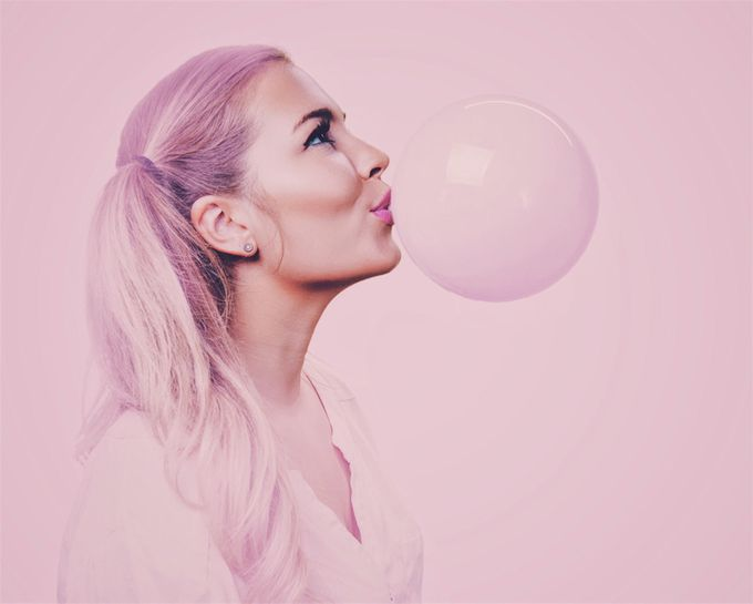 Bubble Gum by kolbyschnelli - Pink Photo Contest