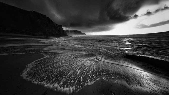 Aphrodite by MiguelMartins - The Water In Black And White Photo Contest