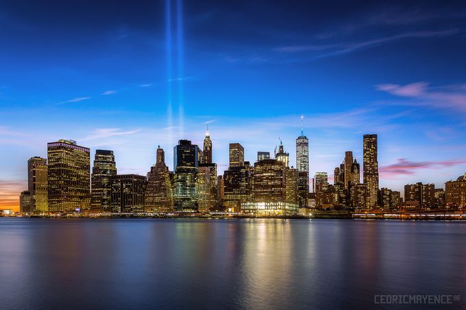 Manhattan Skyline - New York (US) by CedricMayence - Cities By The Water Photo Contest