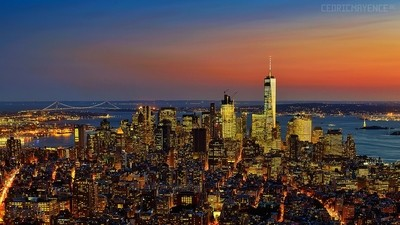 New-York from the Empire State Building (US)
