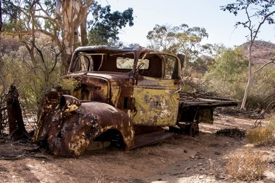 Truck gone to rust!