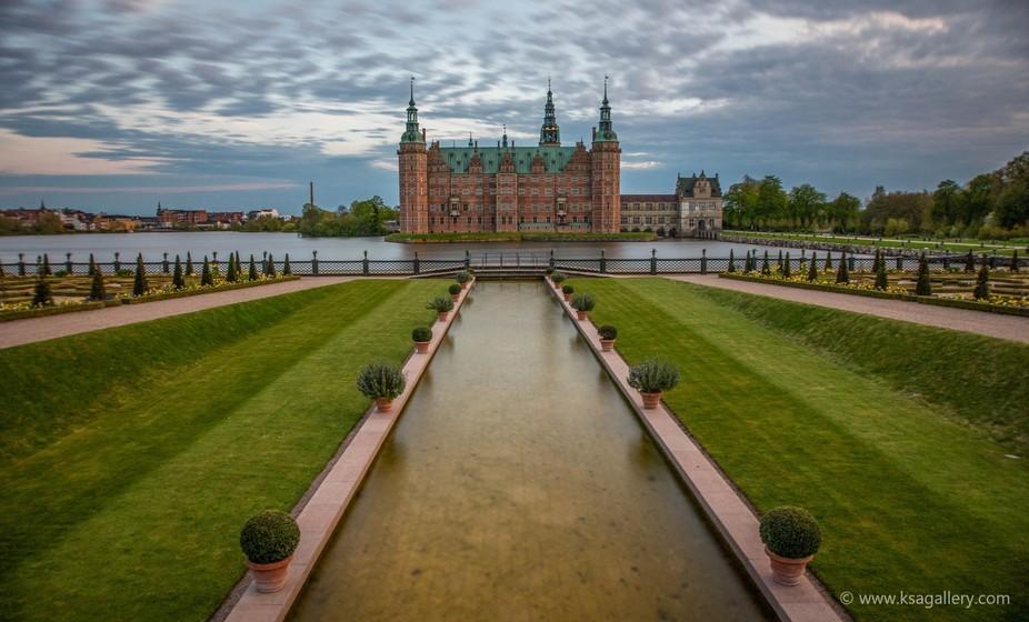 Frederiksborg Castle Backyard