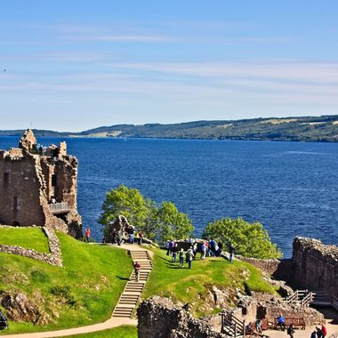 I took this photo when me and my family were in travelling around Scotland in the year 2015.  This was taken at the Castle of Urquhart by the lake of Loch Ness.