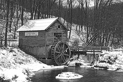 Winter at Hyde Mill