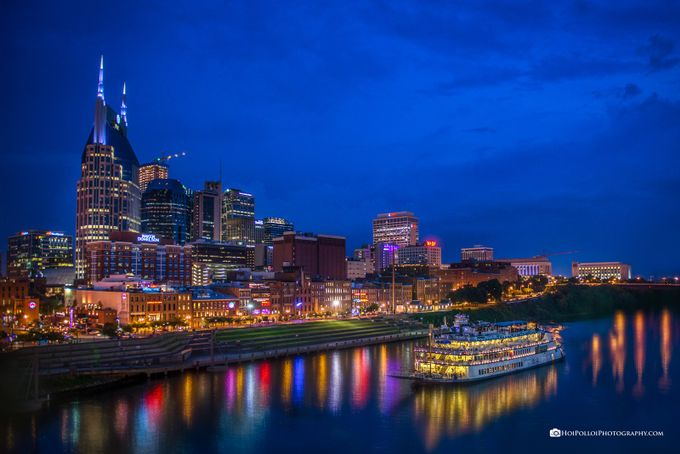 Nashville Nightlife by Merma1d - City In The Night Photo Contest