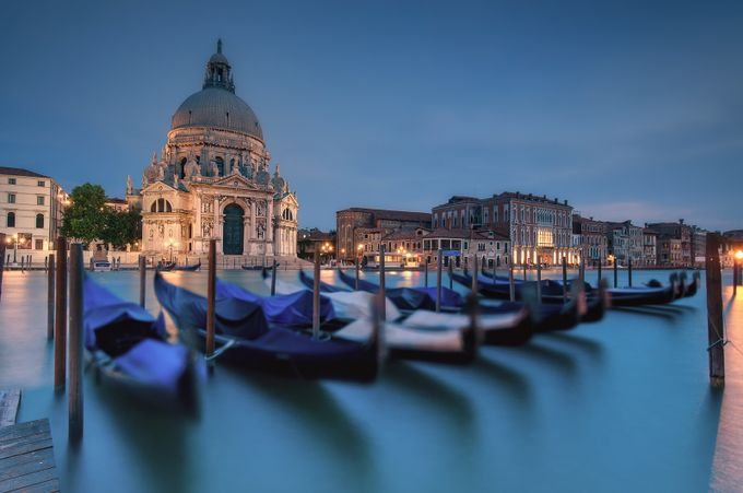 Santa Maria della Salute, Venice, Italy by ovi_craciun - Rule Of Thirds Photo Contest v3