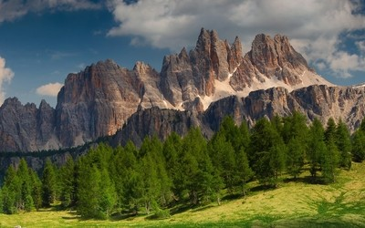 Croda da Lago, Dolomites, Italy