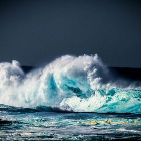 A late morning shoot driving past Malabar Beach, NSW Australia and snapped up a powerful shot of the ocean.