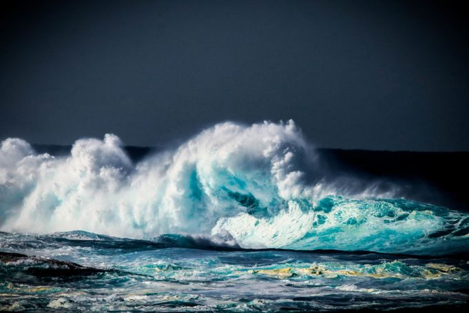 The Raw Power Of The Ocean. by Shannonmasonn - The Ocean Photo Contest