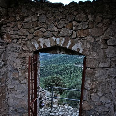 I took this photo at Kantara Castle, in Cyprus, in the year 2012.