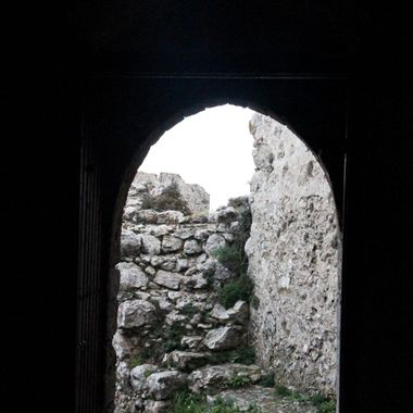 I took this photo at Kantara Castle, in Cyprus, in the year 2015.