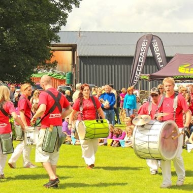 This photo was taken when we went to the Lake District, Kendal Town, in the year 2012. When we were walking around, we noticed there was a festival in the town. This photo was taken at that festival.