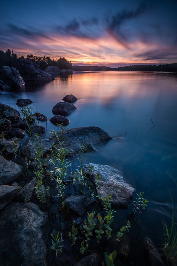 Quirke Lake Sunset by JustinRussoPhotography - Creative Landscapes Photo Contest vol3