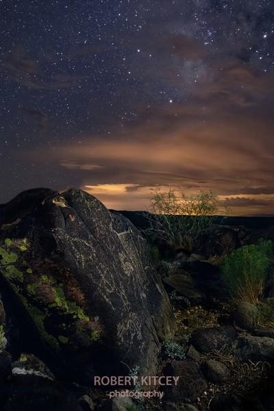 Petroglyph in New Mexico
