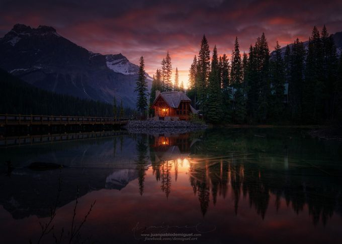 Amanecer en Emerald Lake. by JuanPablo-deMiguel - Monthly Pro Vol 35 Photo Contest