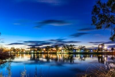 Dusk Murray River
