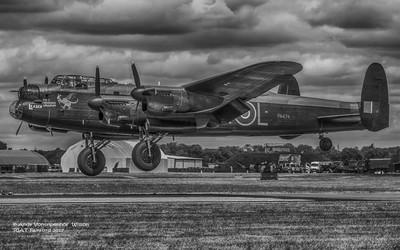 Battle of Britain Memorial Flight Avro Lancaster HDR